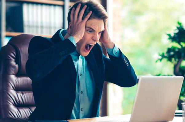 プログラミング学習で挫折する人のイメージ画像