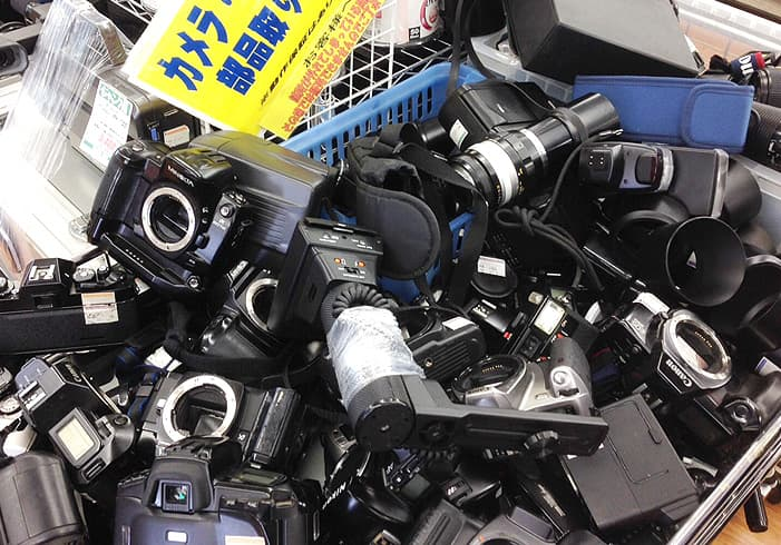 カメラ転売におすすめの商品「ジャンク品」のイメージ画像